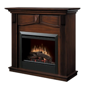 Dimplex Holbrook DFP4765BW Traditional Electric Fireplace Mantle with 23-Inch Firebox