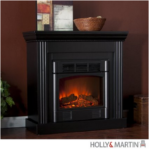 Holly & Martin Bastrop Petite Convertible Electric Fireplace