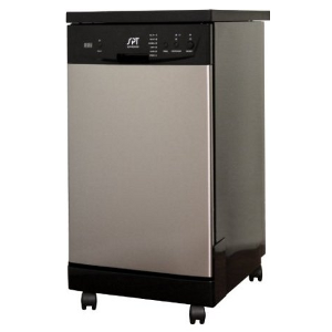 SPT SD-9239SS 18-Inch Portable Dishwasher