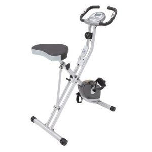 Exerpeutic 250XL Folding Magnetic Upright Bike with Pulse
