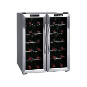 SPT WC-2461H Double-Door Dual-Zone Thermo-Electric Wine Cooler with Heating