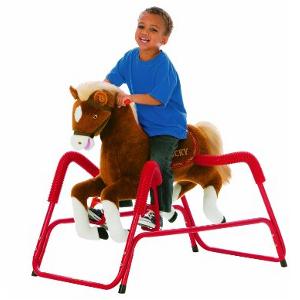 Tek Nek Lucky Plush Spring Horse