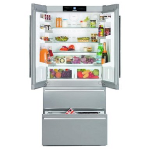 Liebherr CBS2062 18.8 Cu. Ft. Stainless Steel Counter Depth French Door Refrigerator